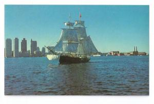 Brig Beaver II Boston Tea Party Replica Ship Postcard