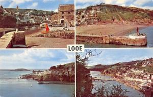 Looe, The Harbour Hannafore Point Banjo Pier and Beach Town Bridge