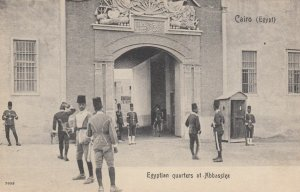 CAIRO , EGYPT , 00-10s ; Egyptian quarters at Abbassiez