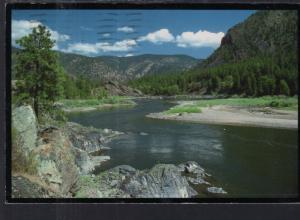 The Clark Fork River,Below Missoula,MT BIN