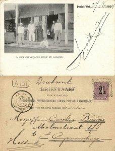 indonesia, SUMATRA SABANG, Pulau Weh, Chinese Camp (1904) Postcard
