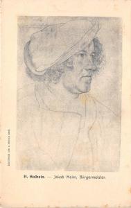 BF34849 h holbein jakob meier burgermeister   painting art front/back scan