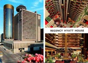 Georgia Atlanta Regency Hyatt House Hotel