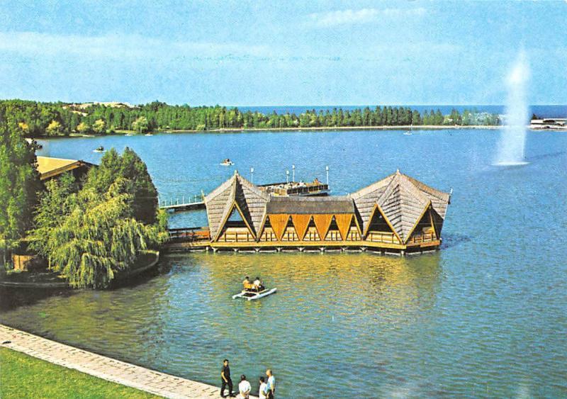 Romania Statiunea Neptun Debarcaderul Boat Wharf