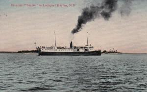 Steamer Seulac in LOCKPORT HARBOR, Nova Scotia, Canada,00-10s