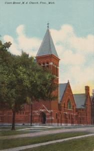 FLINT, Michigan, PU-1913, Court Street M.E. Church