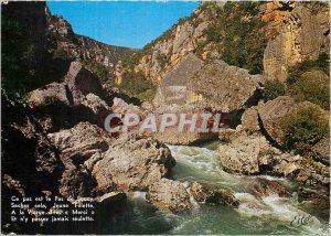 Modern Postcard Gorges of Tarn No Soucy