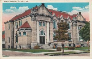 OIL CITY , Pennsylvania , 1910s ; Public Library