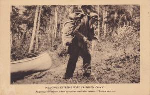 Missions D'Extreme Nord Canadien, Serie VI, Au Passage Des Rapides, Northwest...