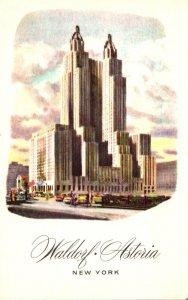 New York City Hotel Waldorf Astoria