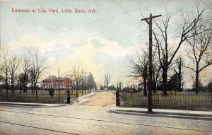 11910 AR  Little Rock 1908   Entrance to City Park