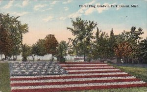 Floral Flag Gladwin Park Detrit Michigan