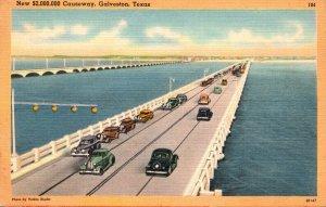 Texas Galvston New $ 2,000,000 Causeway