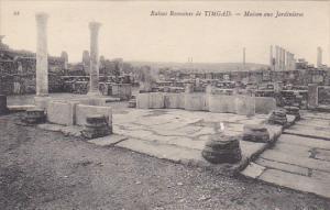Tunisia Ruines Romaines de Timgad Maison aux Jardiniers