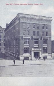 LANSING , Michigan , PU-1911 ; Young Men's Christian Association Building