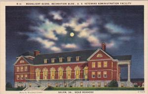 Moonlight Scene Recreation Building U S Veterans Administration Facility Sale...