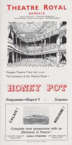 Honey Pot Helen & Ed Hoile Theatre Royal Margate Kent Programme