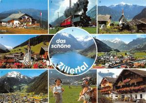 Austria Zillertal, Die Zillertalbahn Lanersbach Mayrhofen Almabtrieb