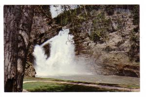 Cameron Falls, Waterton Lakes National Park, Alberta, Photo Travel Convention...