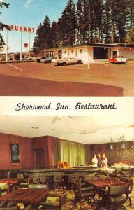 Portland Oregon Sherwood Inn Multiview Vintage Postcard K57471
