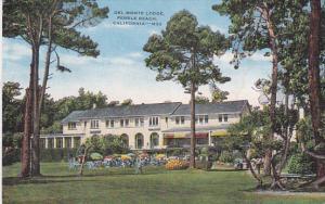 Del Monte Lodge, Pebble Beach, California, 30-40s