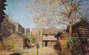 Fort Nashborough Nashville Tennessee 1960