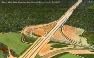 PA - Pennsylvania Turnpike. Blue Mountain Interchange