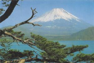 BT13913 Mt fiji by lake motosu           Japan