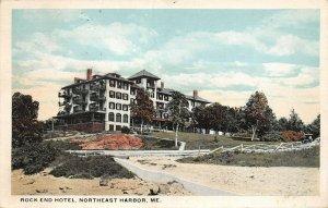LPS60 Northeast Harbor Maine Rock End Hotel Vintage Postcard