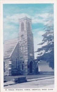 Rhode Island Greenville Saint Thomas Episcopal Church