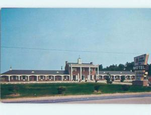 Unused Pre-1980 MOTEL SCENE Summerton - Near Manning & Santee SC B5502