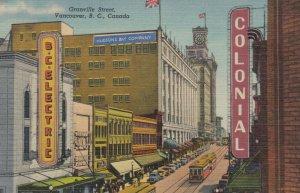VANCOUVER , B.C., Canada, 30-40s ; Granville Street