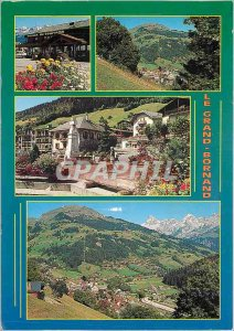 Modern Postcard Le Grand Bornand (Haute Savoie) the Tourist house