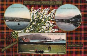LAMIASH ISLE OF ARRAN, Scotland, 1900-1910's; East Bay From Pier, Lamiash Fro...