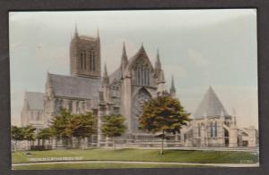 United Kingdom Churches - Lincoln Cathedral - South East Exterior View