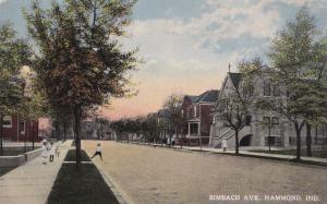 HAMMOND , Indiana, 00-10s ; Rimbach Avenue