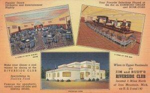 IRON MOUNTAIN , Michigan, 1930-40s ; Riverside Club