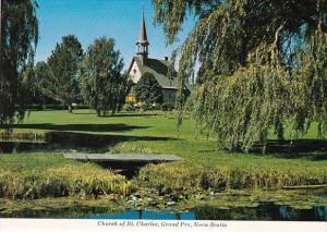 Canada Nova Scotia Grand Pre Church Of St Charles