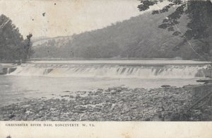 RONCEVERTE , West Virginia, 1908 ; Greenbrier River Dam