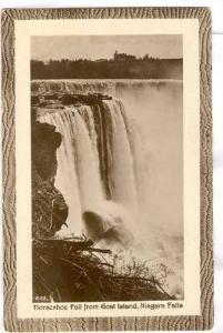 RP;  Horseshoe Fall from Goat Island, Niagra Falls, New York, 10-20s