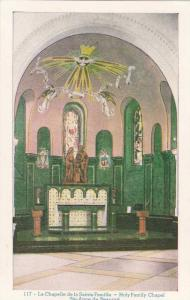 Interior View of Altar, Holy Family Chapel, Ste. Anne de Beaupre, Quebec, Can...