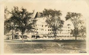 1910 Poland Springs Maine Mansion House RPPC real photo postcard 10615