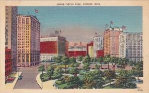 Michigan Detroit Grand Circus Park