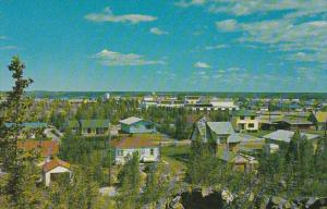 Canada Town View Looking North Yellowknife Territories