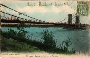 CPA PERTUIS - Pont sur la DURANCE (511780)
