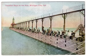 Michigan City, Ind., Vacation Days on the Pier