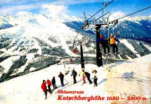 Austria - Rennweg Karnten Katschberghohe (Aerial Lift)