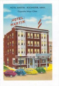 Hotel Martin (Exterior), Rochester, Minnesota, 1940-60s