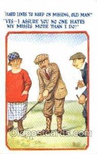 Golf 1928 postal used