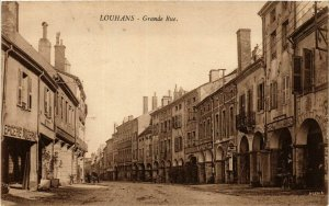 CPA Louhans Grande Rue FRANCE (952926)